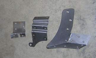 Ford Woodie Brackets